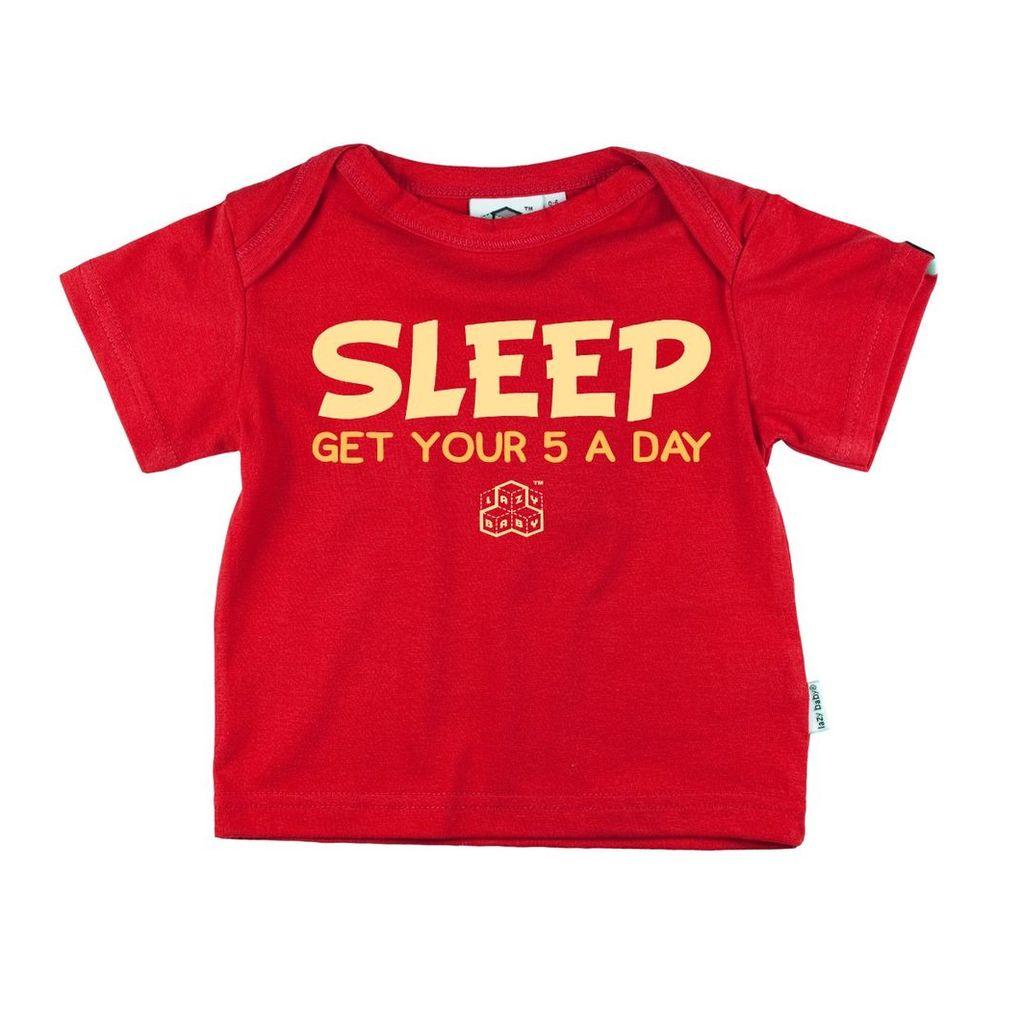 SLEEP FAIRTRADE S/SLEEVE ENVELOPE T SHIRT