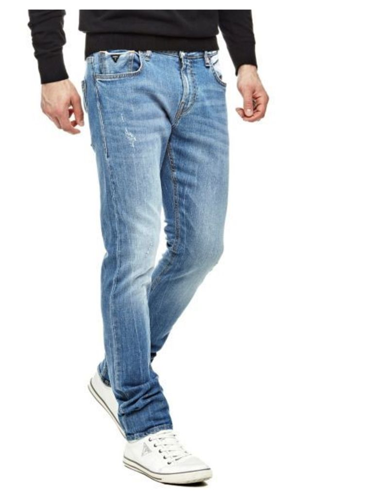 Guess Delavé Superskinny Jeans