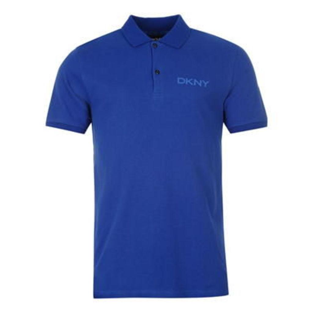 DKNY Chest Contrast Mens Polo Shirt