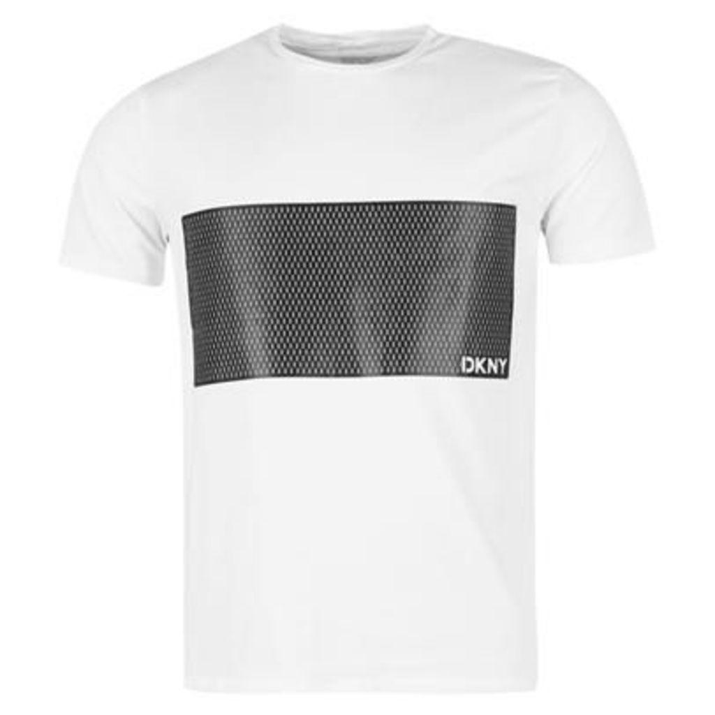 DKNY Chest Panel T Shirt
