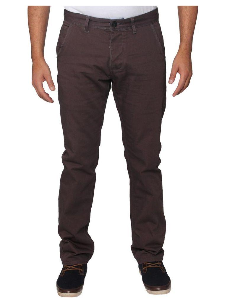 Mens Stretch Grey Straight Leg Jeans