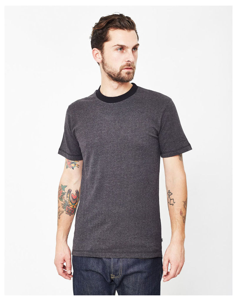 Only & Sons Asmus Fitted Fishtail T-Shirt Grey