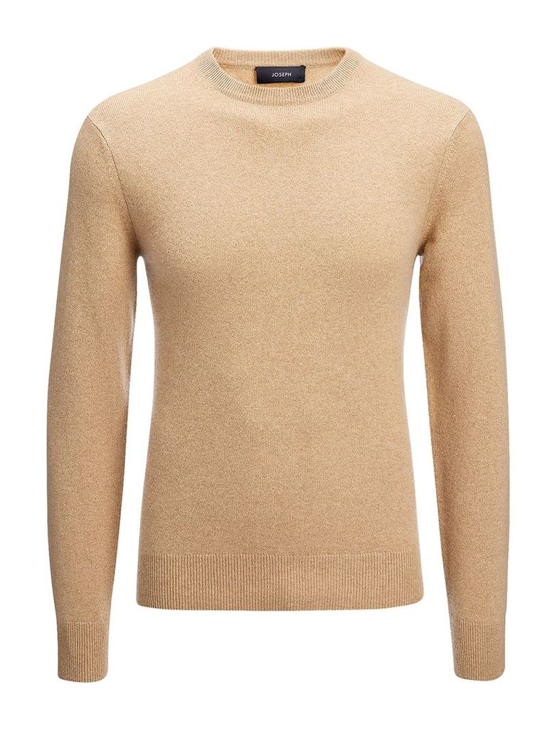 Cashmere 12gg Sweater in Camel