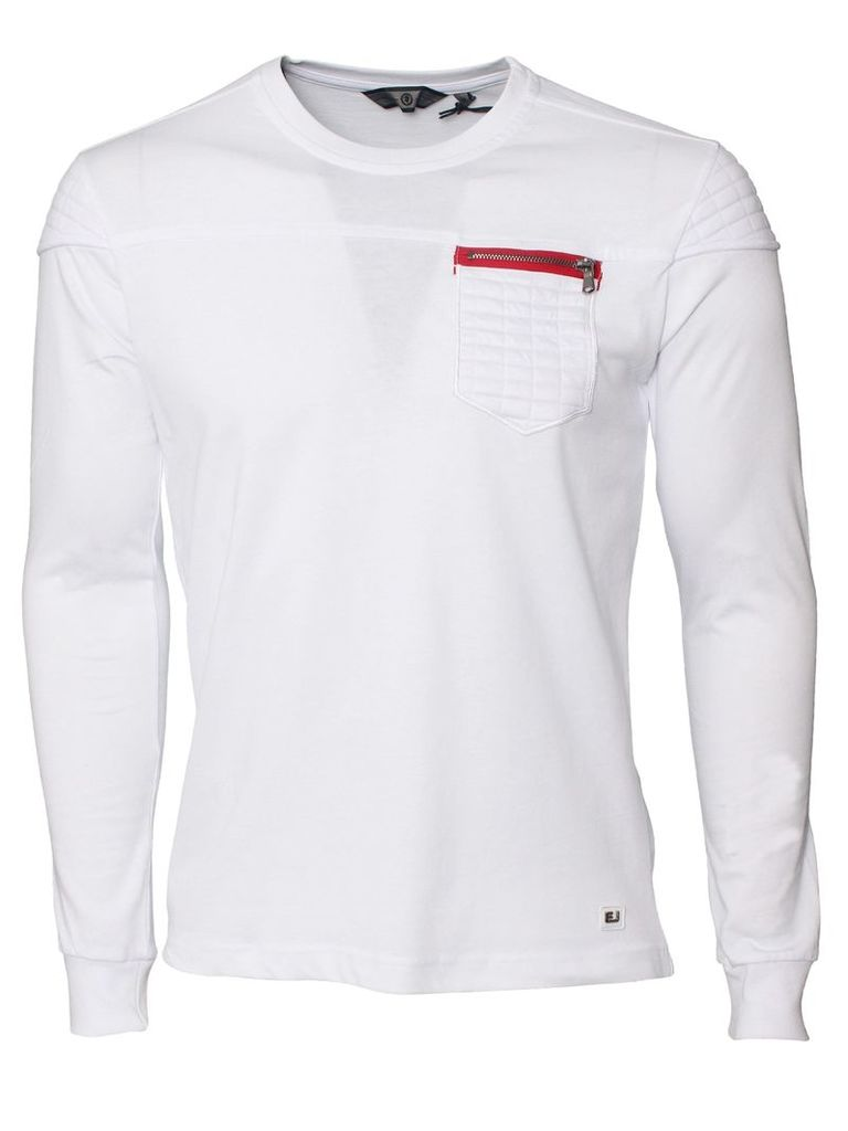 Revolve Mens Crew Neck White T-Shirt