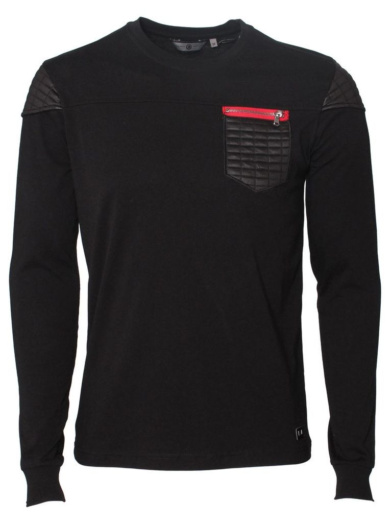 Revolve Mens Long Sleeved  Black T-Shirt