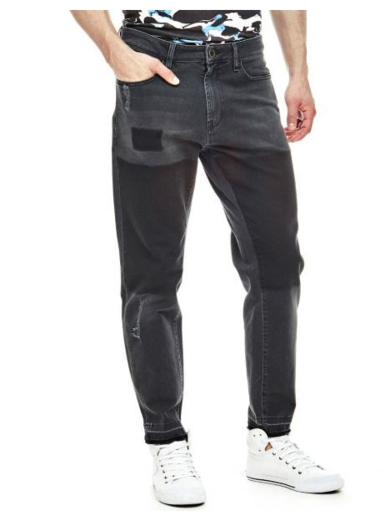 Guess Jeans With Contrasting Patches