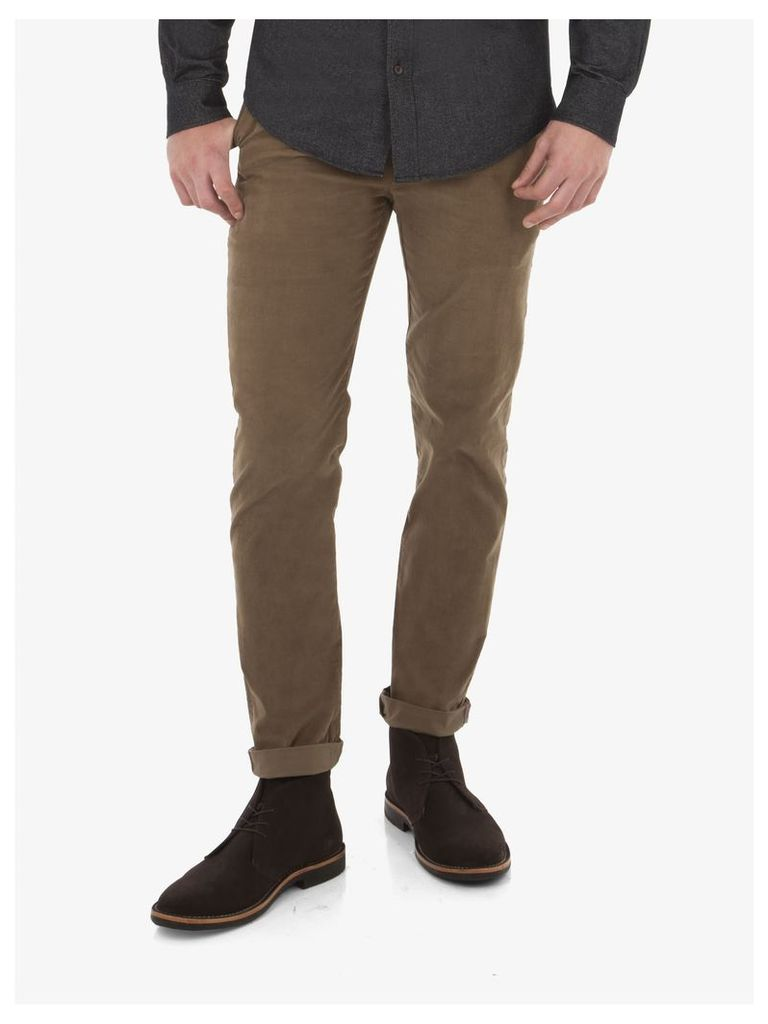 New Cord Trousers 30S Otter