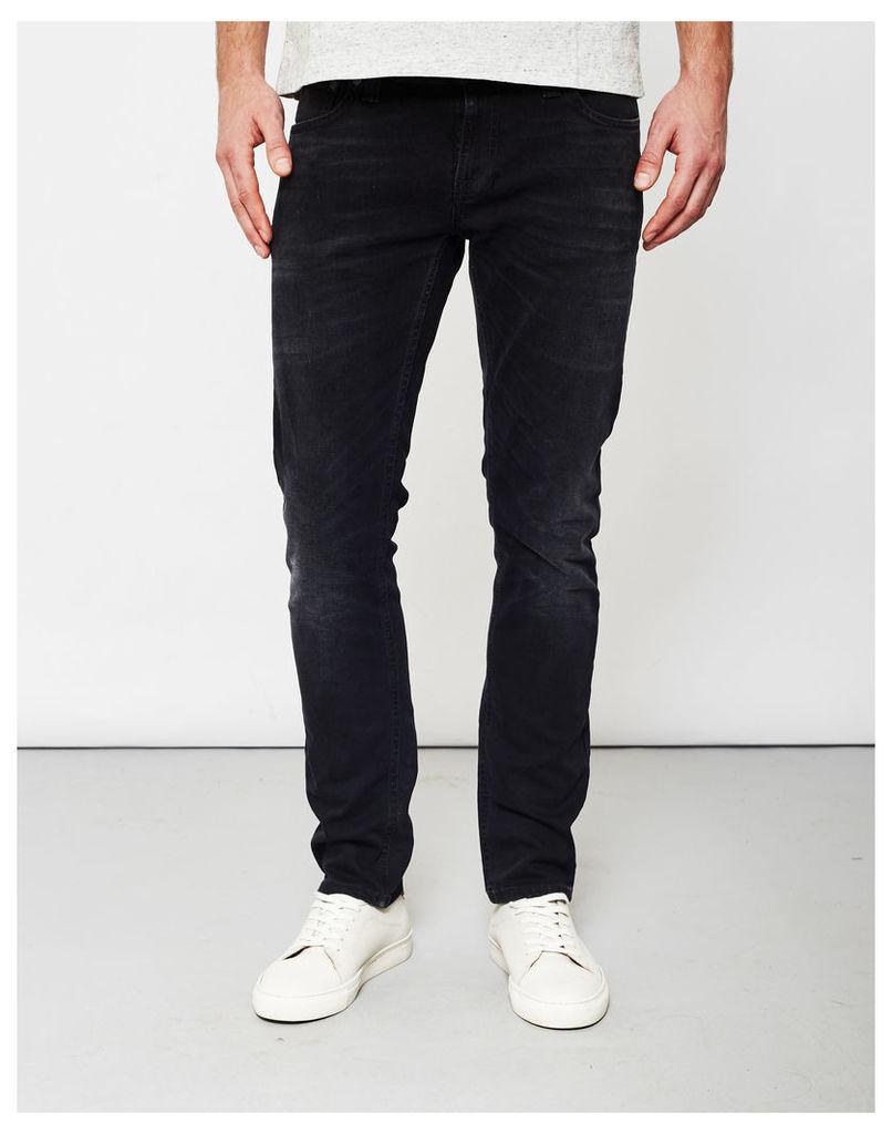 Nudie Long John Black Coyote Jeans Black