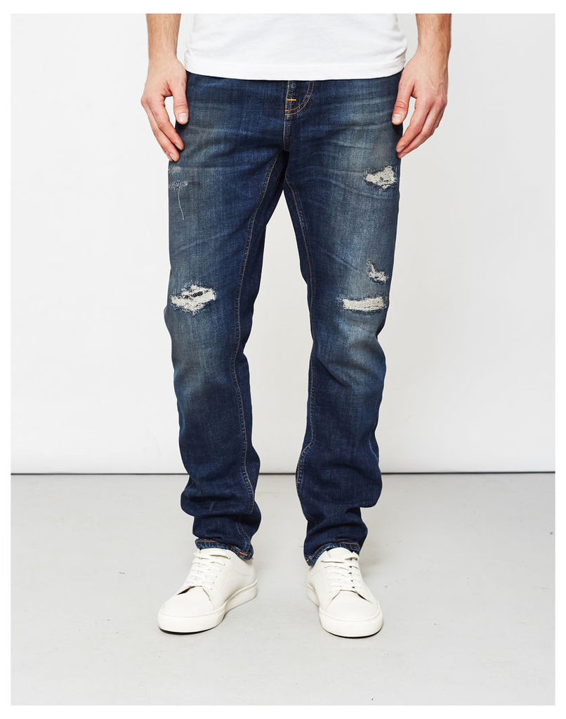 Nudie Jeans Co Brute Knut Blue Reed Jeans