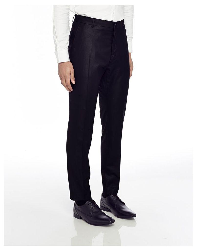 Selected Mylo Logan Trouser Black