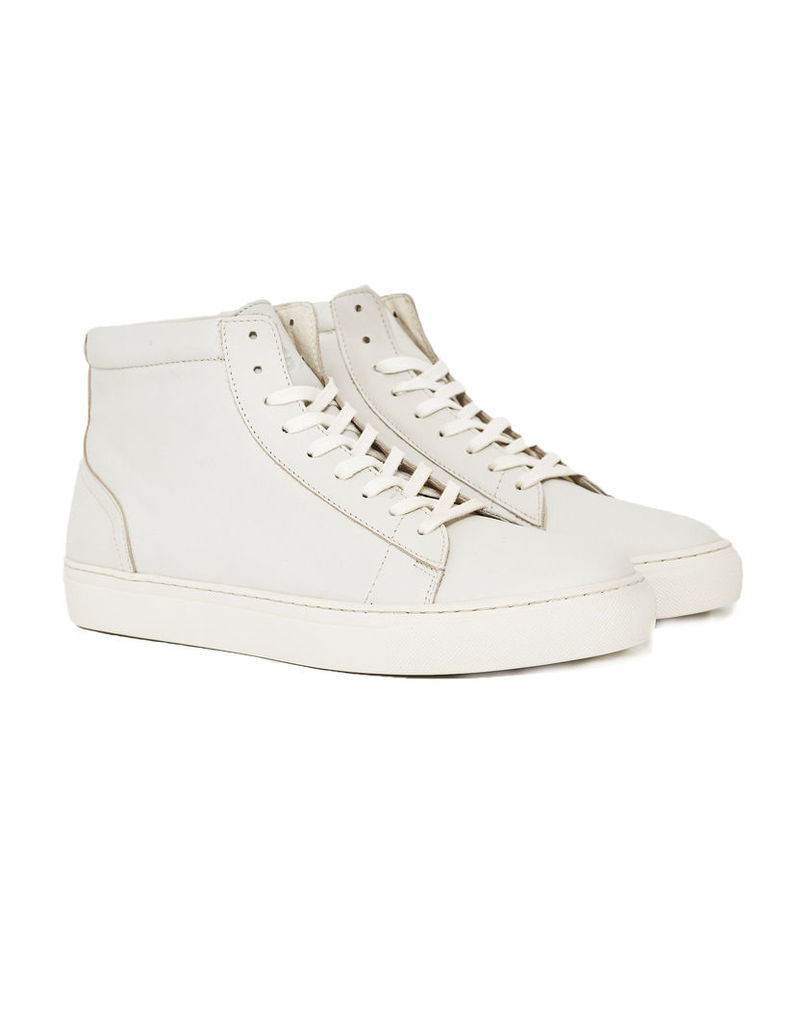 Garment Project Leather Legend Trainer Off White
