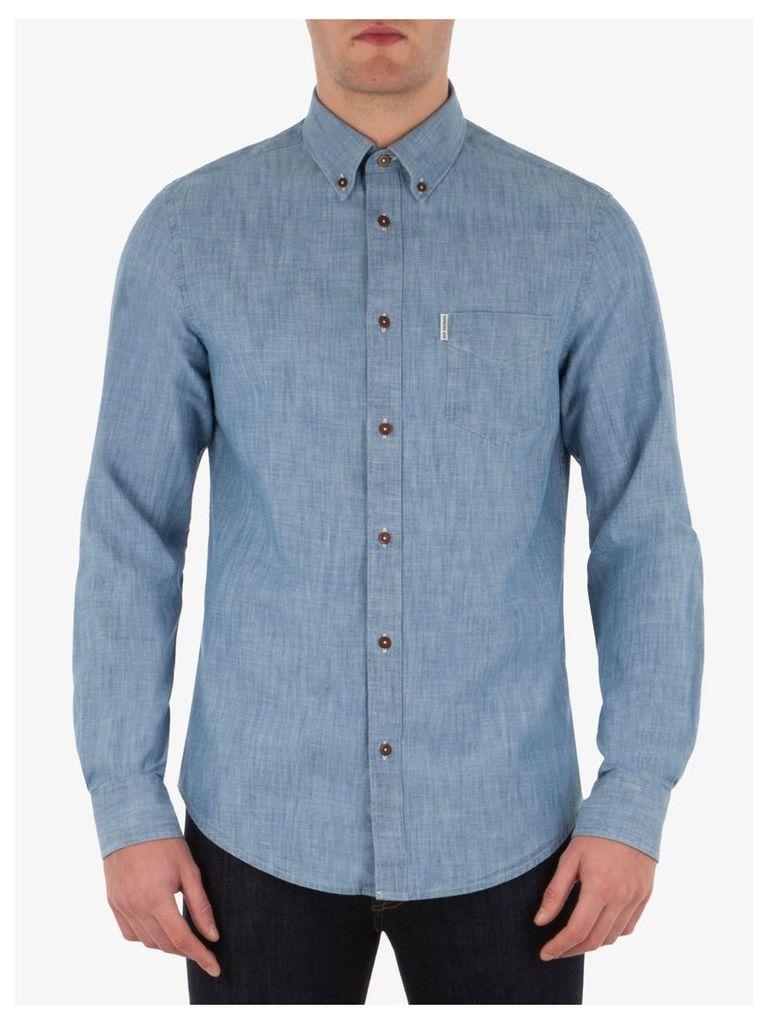 The New Chambray Shirt XXL sky blue