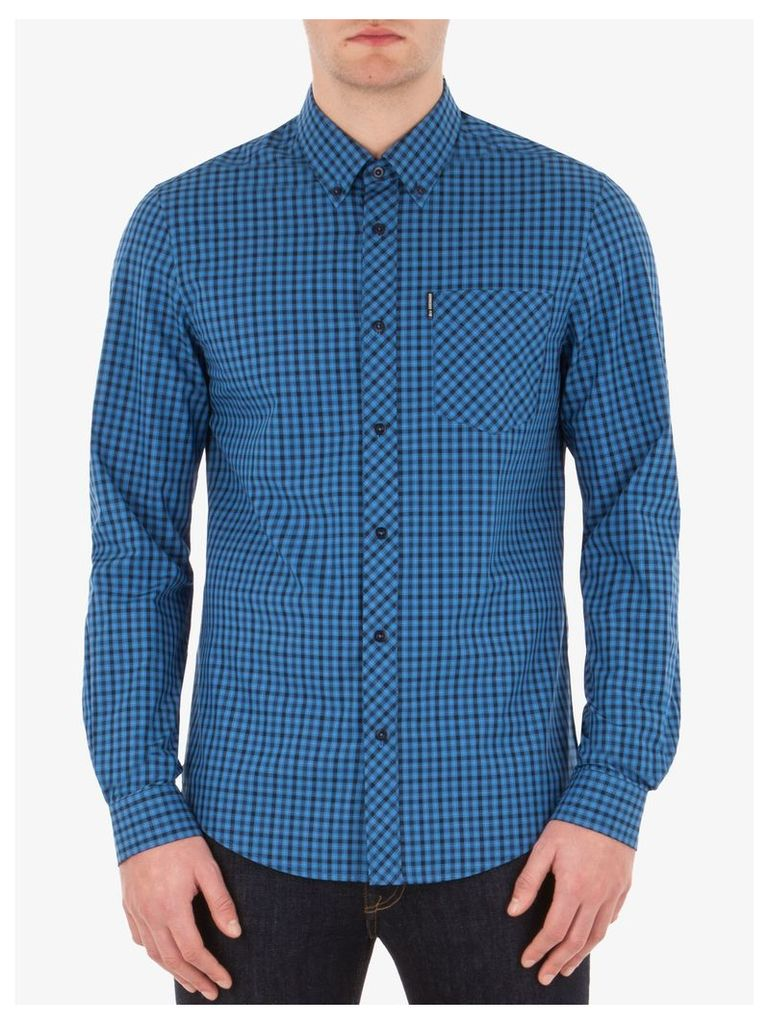 House Check Shirt 4XL P11 Pigment Blue