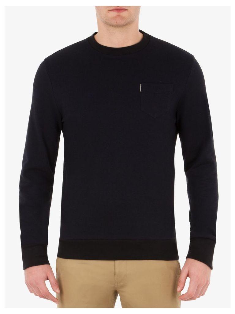 Tonic Pique Sweatshirt XXL True Black