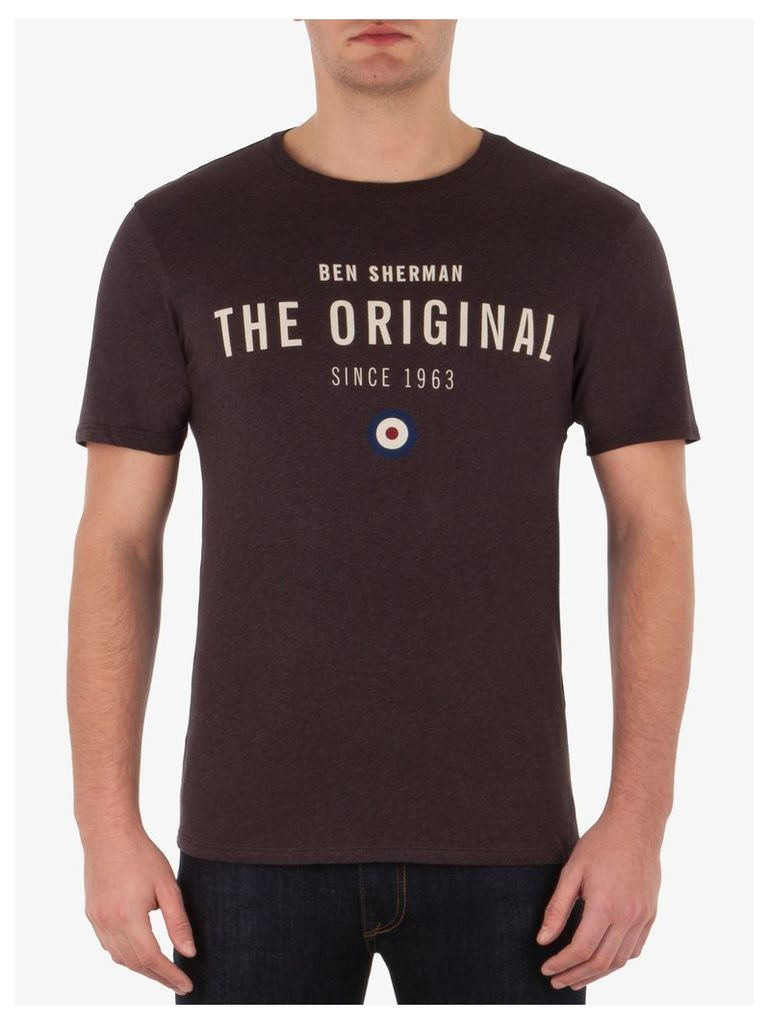 Heritage T-Shirt Sml Bitter Chocolate