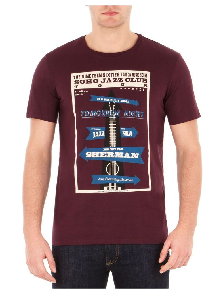 Soho Jazz Club T-Shirt 4XL M78 Dark Port