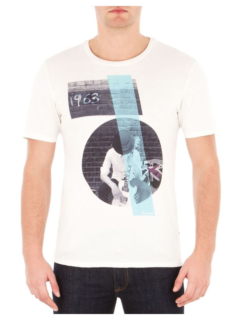 Rock And Roll Guy T-Shirt 4XL OFW Off White