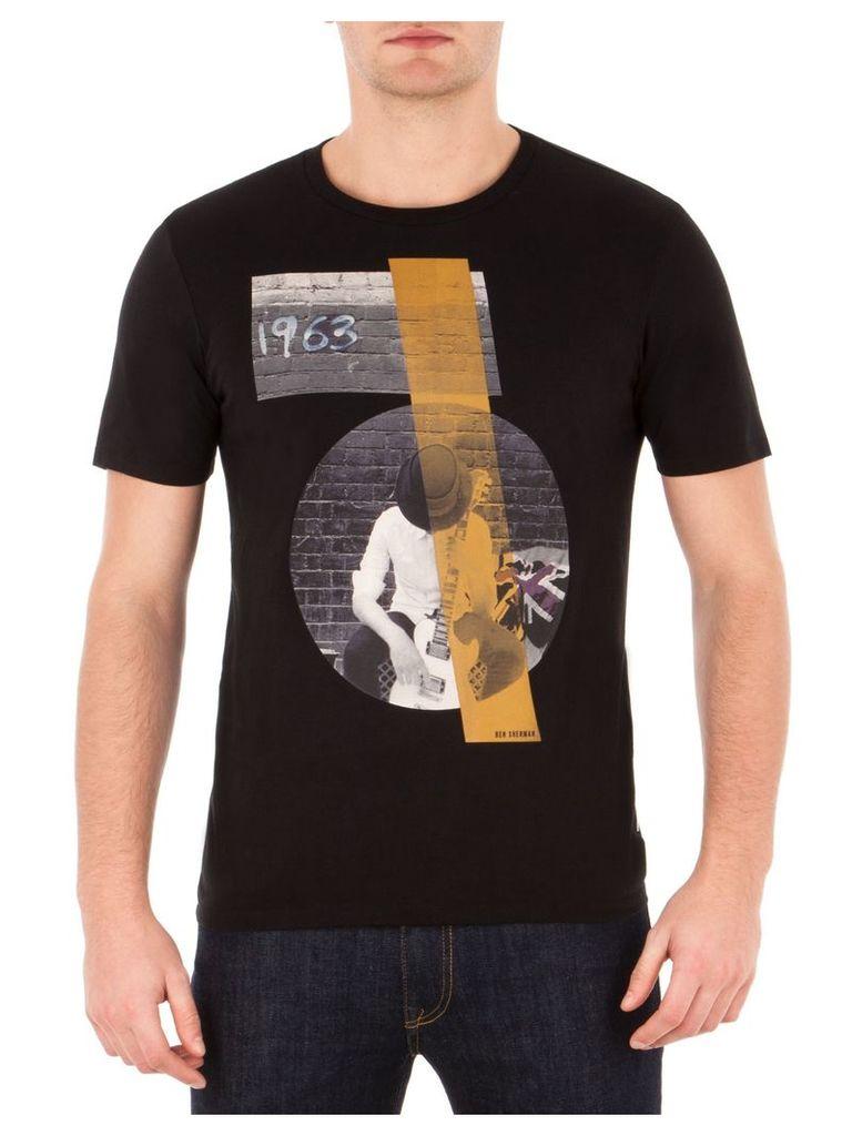 Rock And Roll Guy T-Shirt Sml TBL True Black