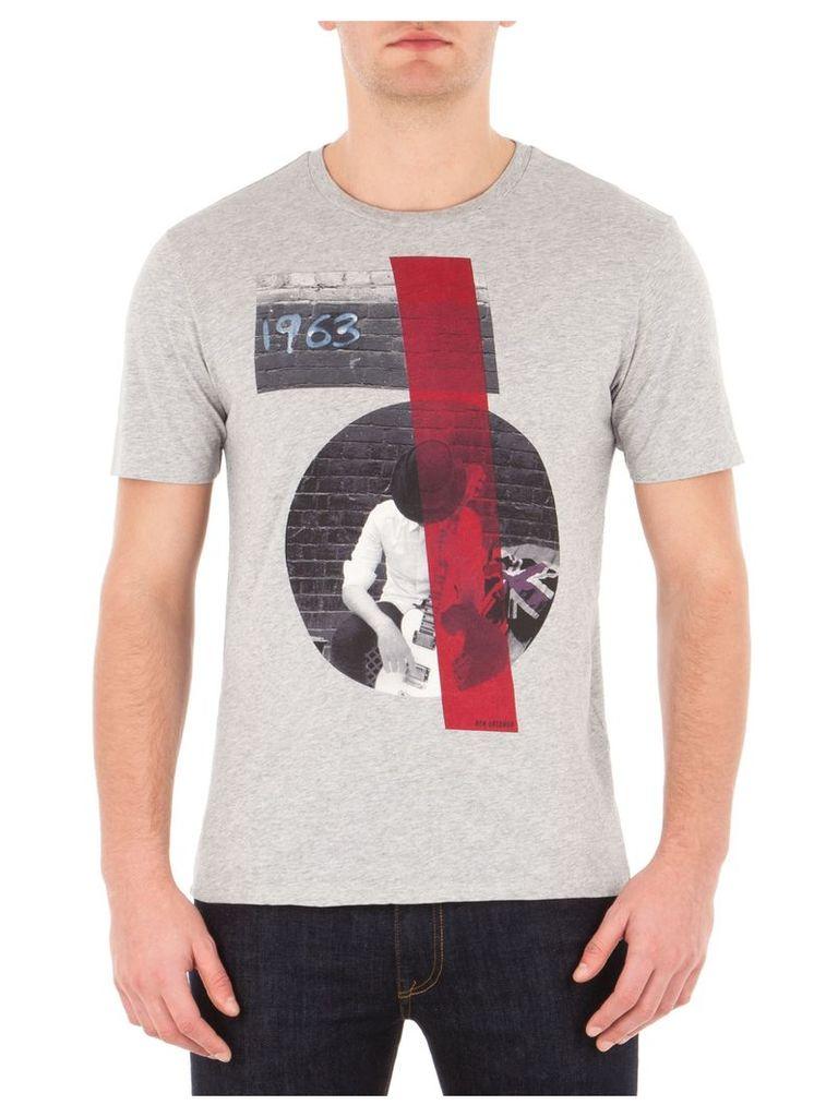 Rock And Roll Guy T-Shirt XXL F18 Oxford Marl