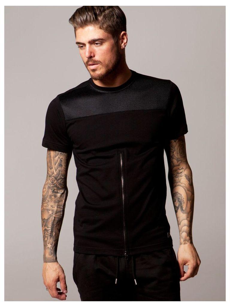 Lawless Mens Short Sleeved Black T-Shirt