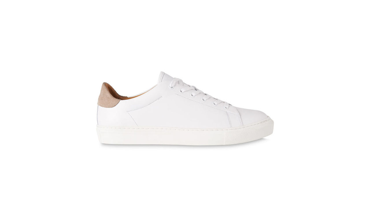 Low Top Leather Trainers