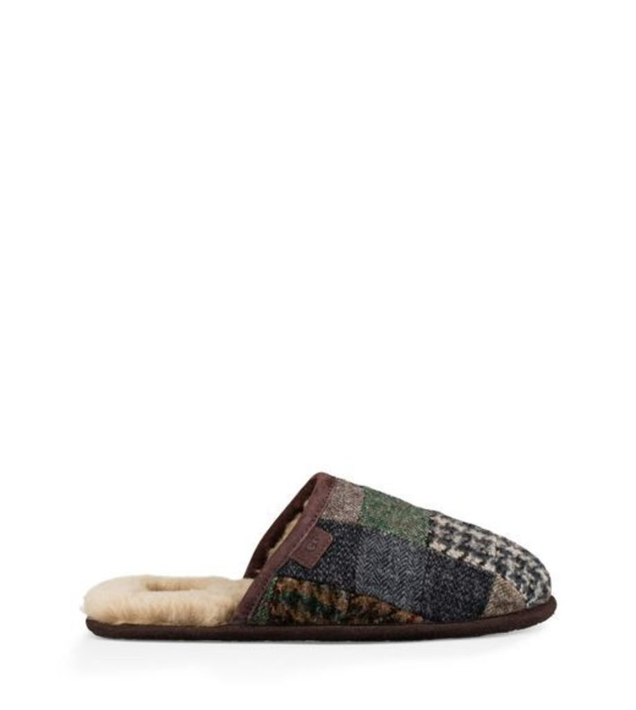 UGG Scuff Patchwork Mens Slippers Patchwork 8