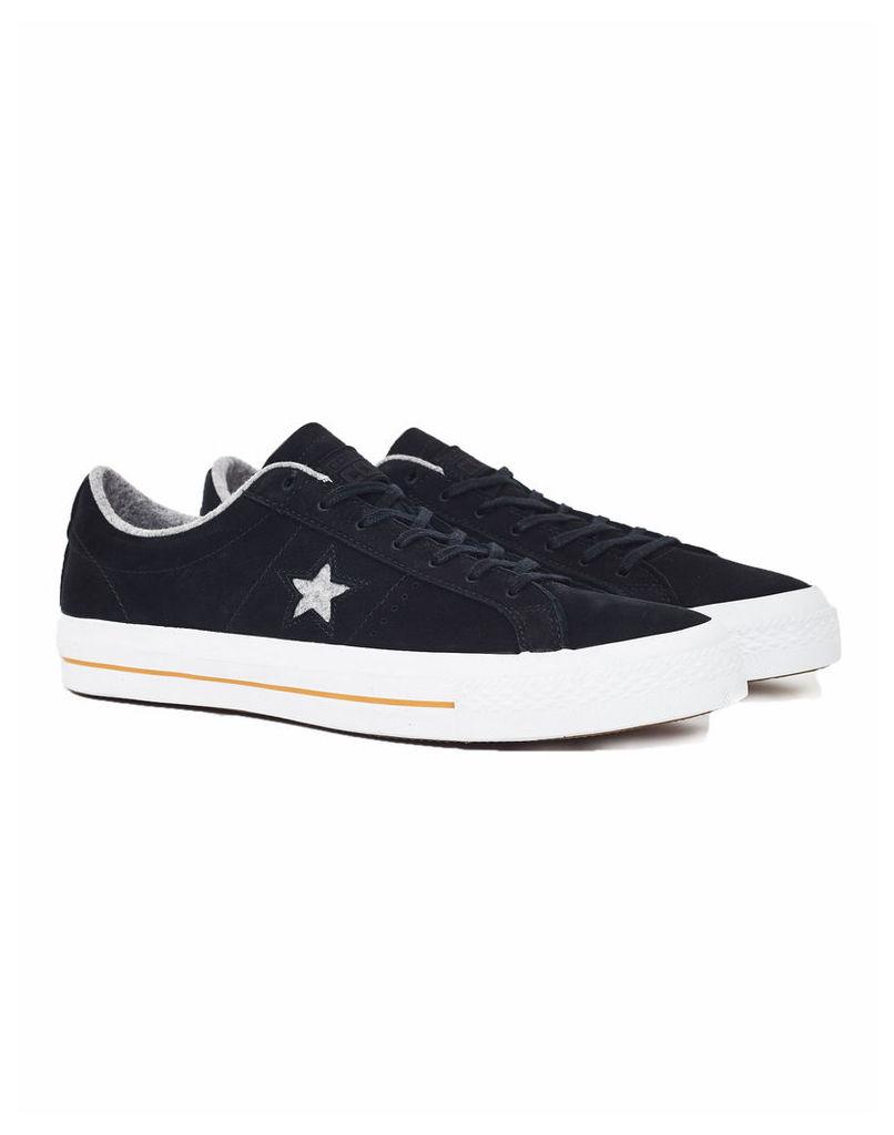 Converse CONS One Star Black Nubuck