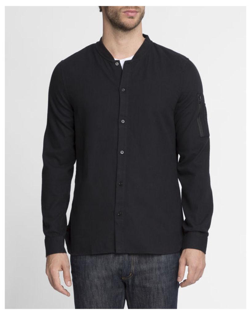 Black Bomber Shirt