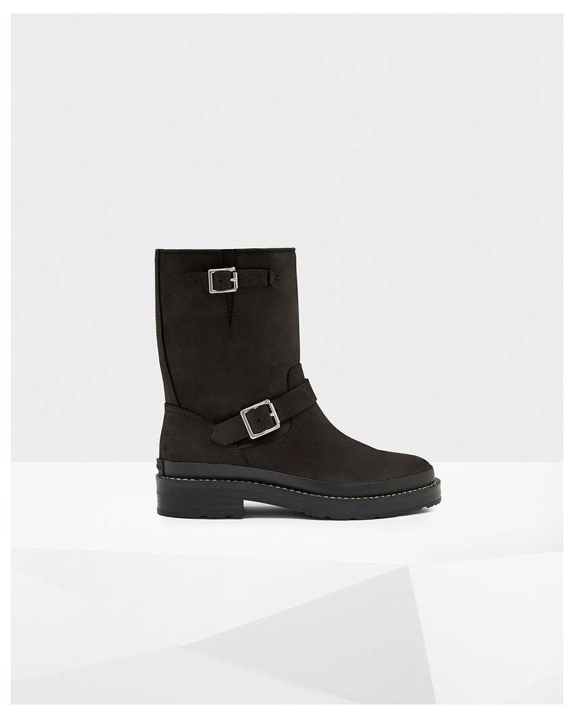 Men's Original Leather Biker Boots