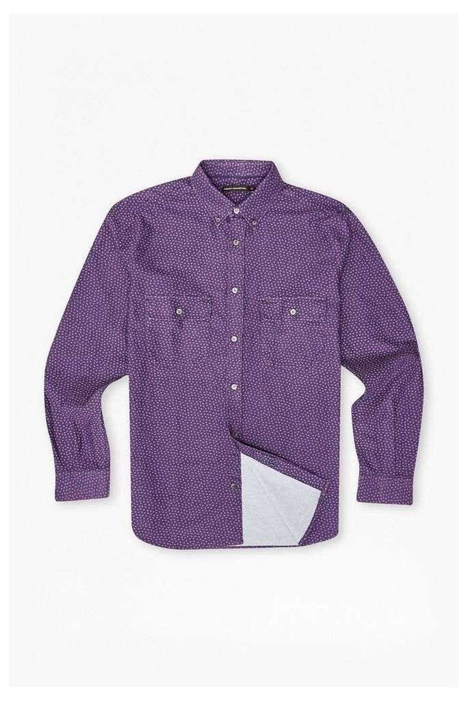 ON THE ROAD OXFORD SHIRT - Gothic Grape