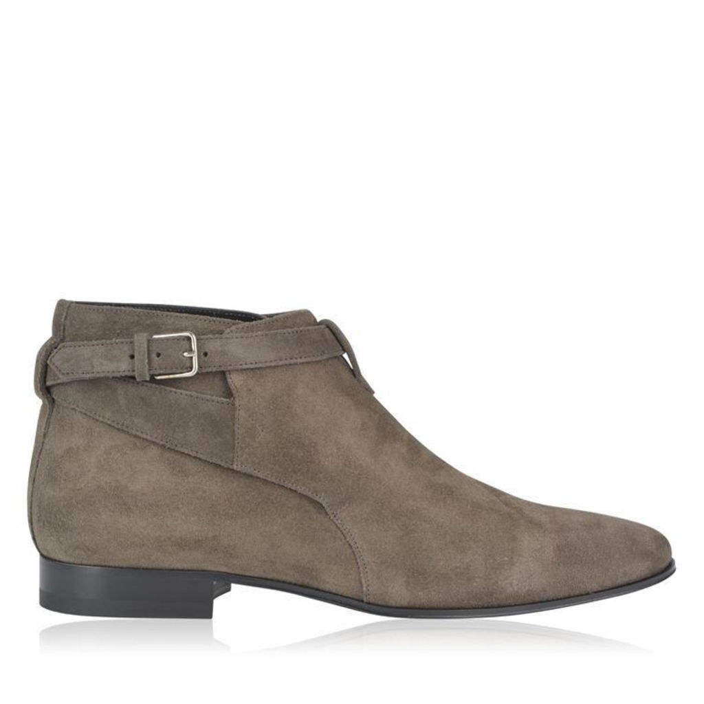 London Buckle Jodhpur Boots