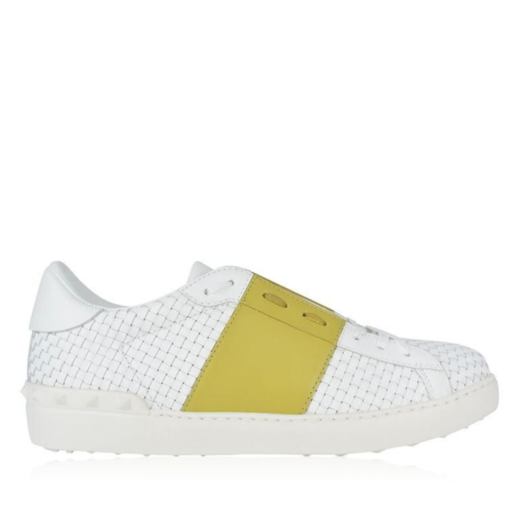 Open Weave Low Top Trainers