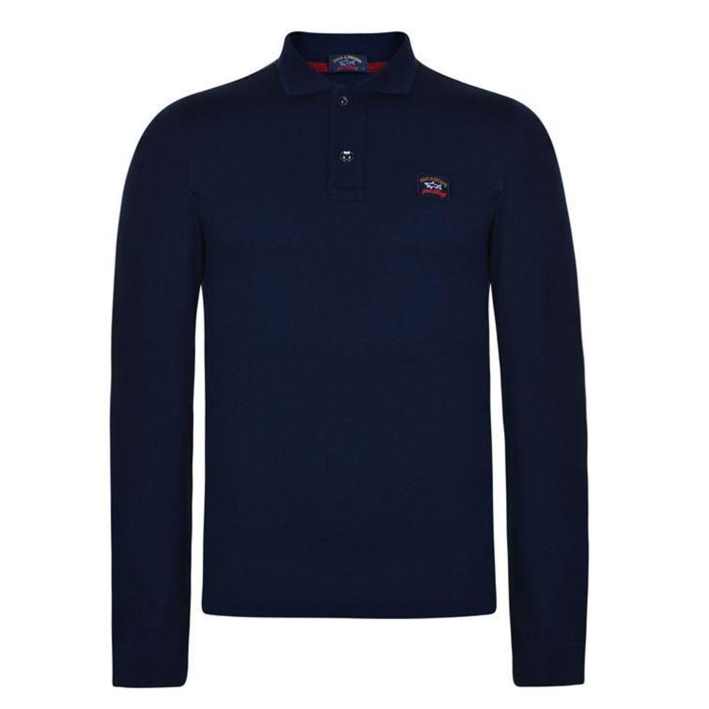 Long Sleeved Polo Shirt