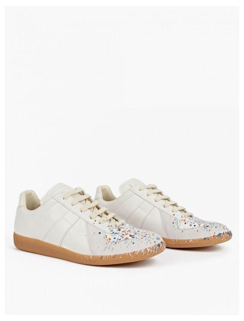 Off-White Paint-Splatter Pollock Sneakers