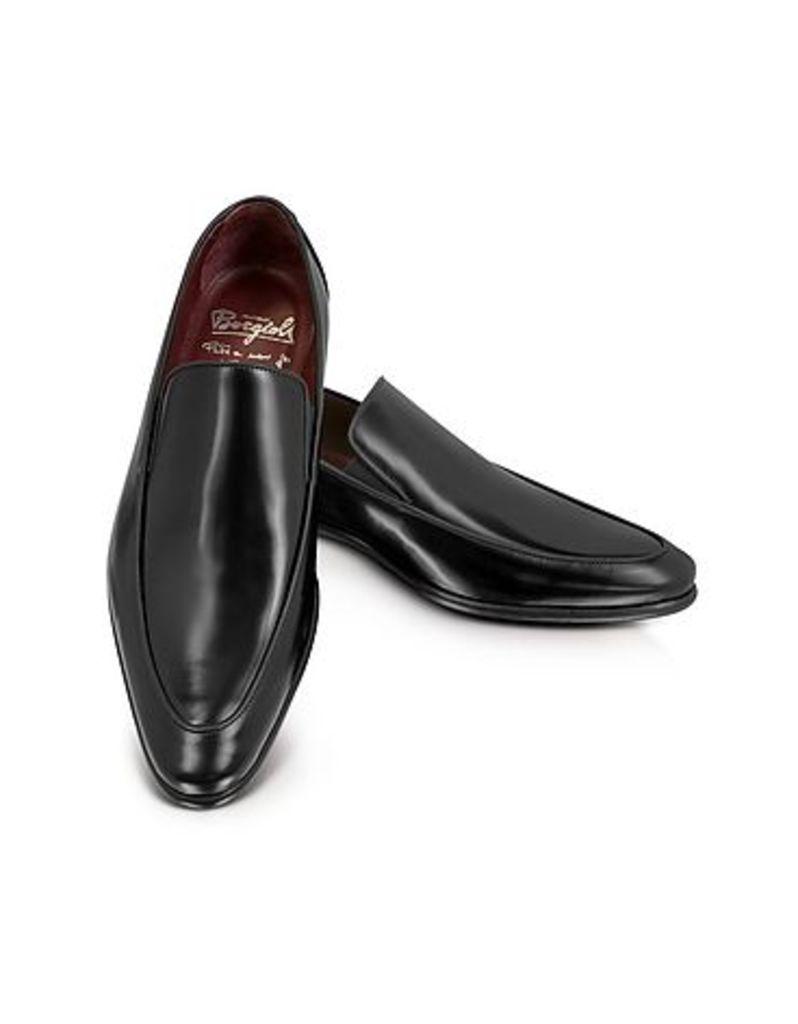 Fratelli Borgioli - Cricket Black Leather Loafer