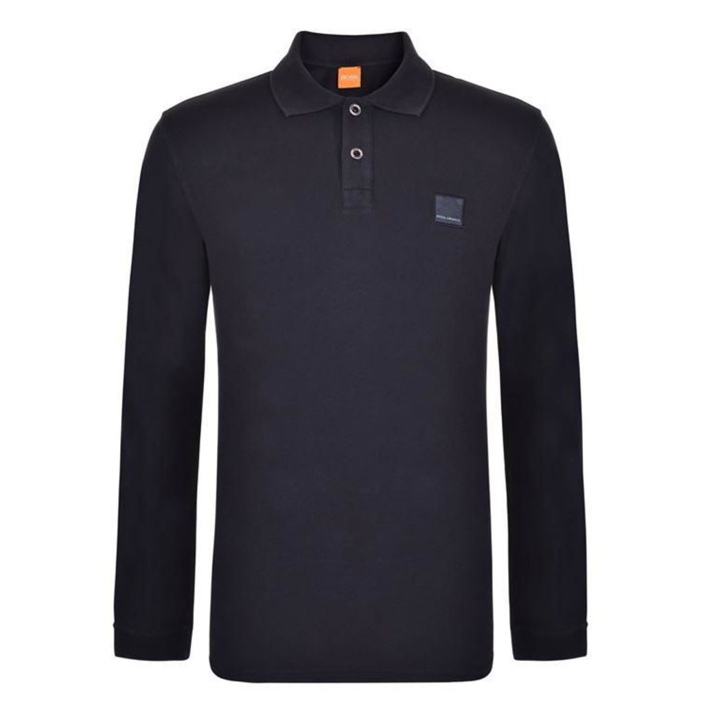 Phlash Long Sleeved Polo Shirt