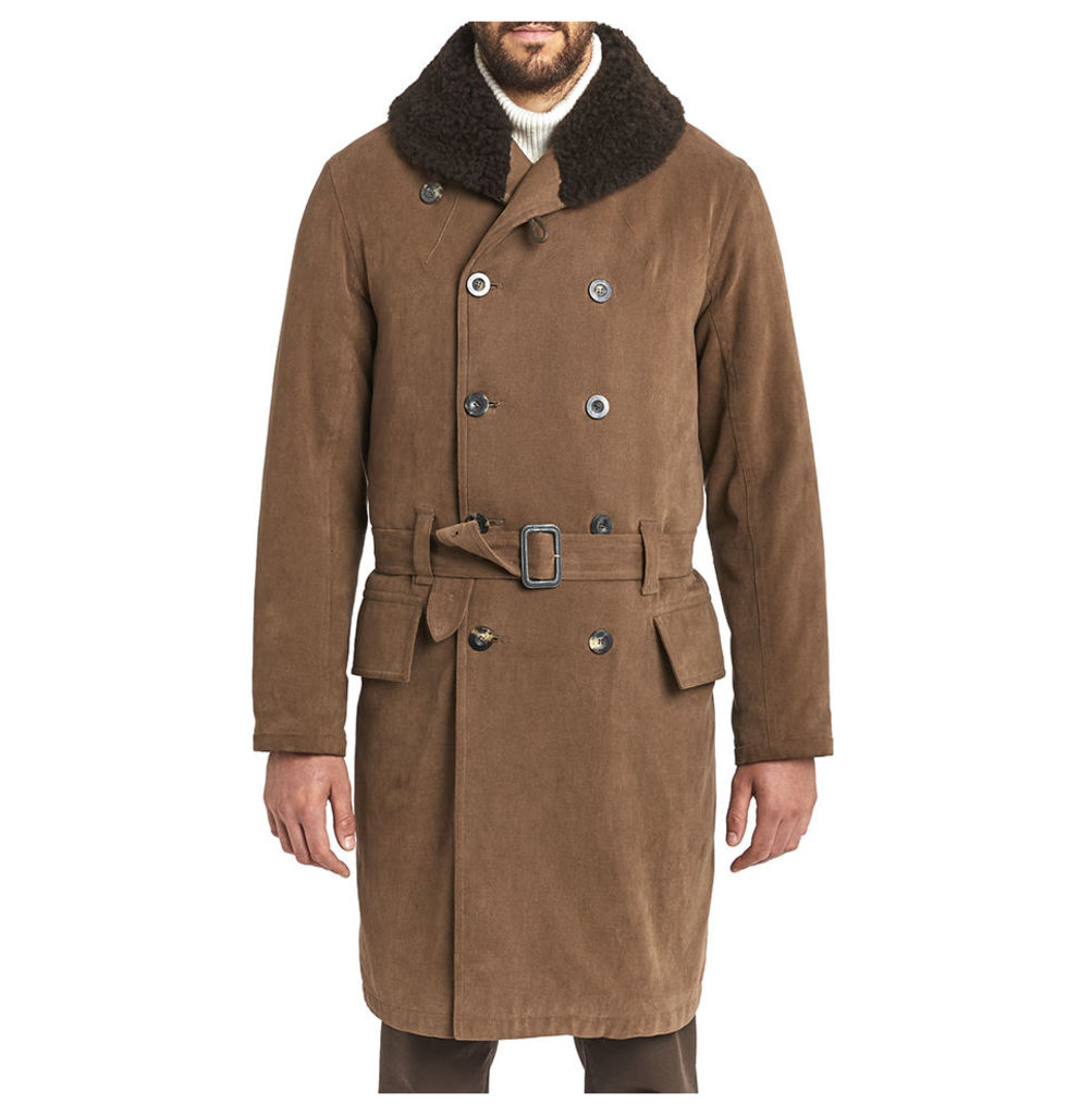 Jeep Coat - Light Brown