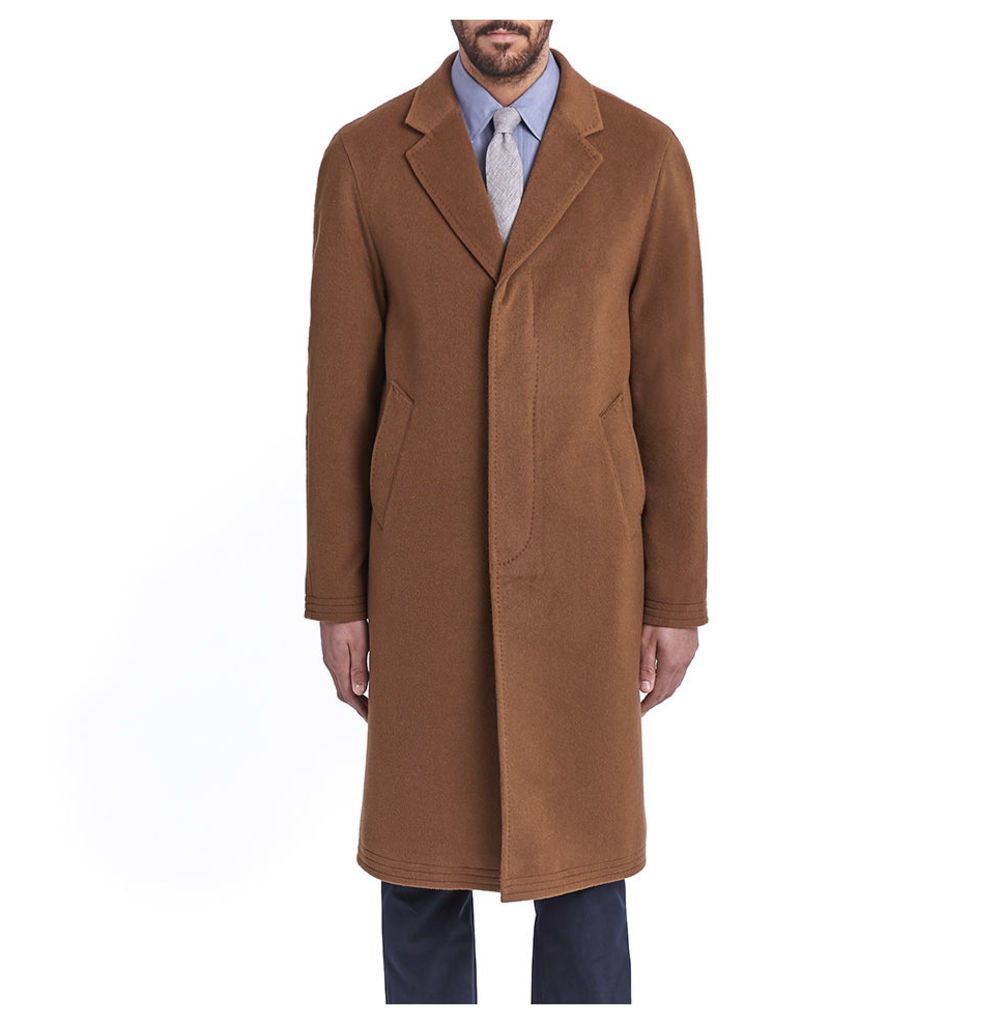 Cashmere Chesterfield - Toffee