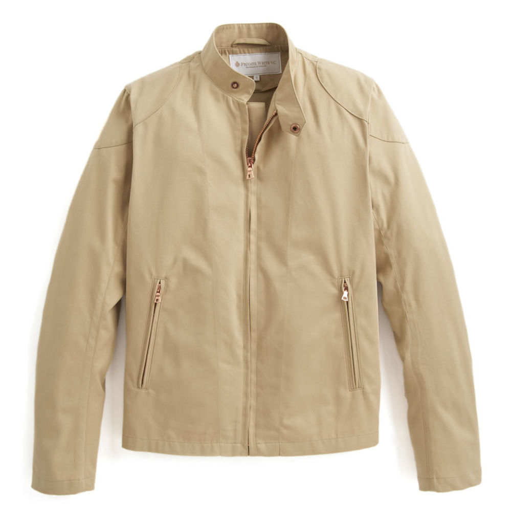 Rainrider Jacket - Stone Cotton