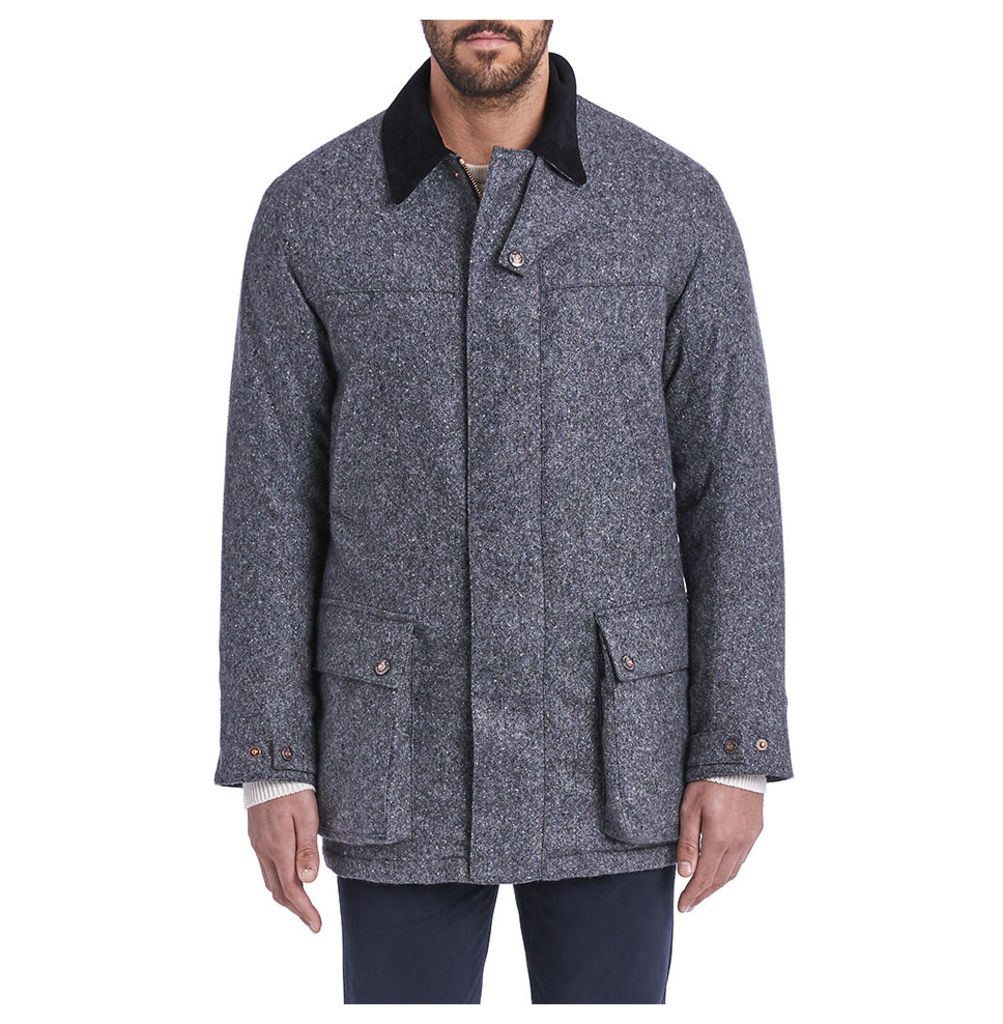 Ultimate Shooting Jacket - Grey Donegal Cashmere