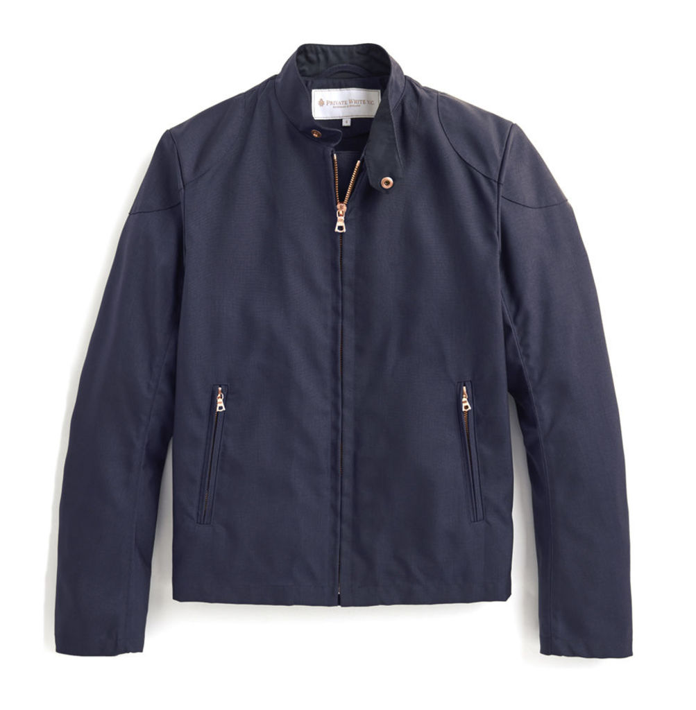 Rainrider Jacket - Navy Nylon