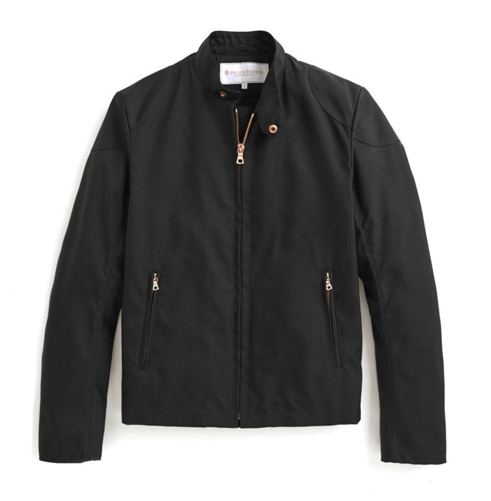 Rainrider Jacket - Black Nylon
