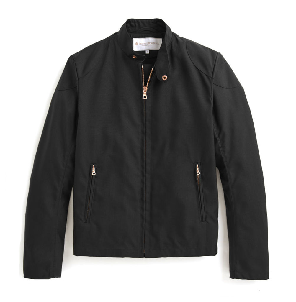 Rainrider Jacket - Black Nylon