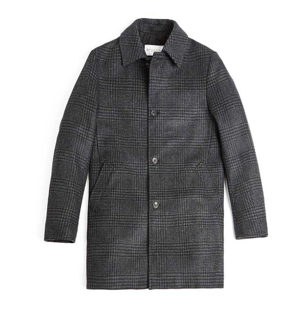 SB Wool Overcoat - Windowpane