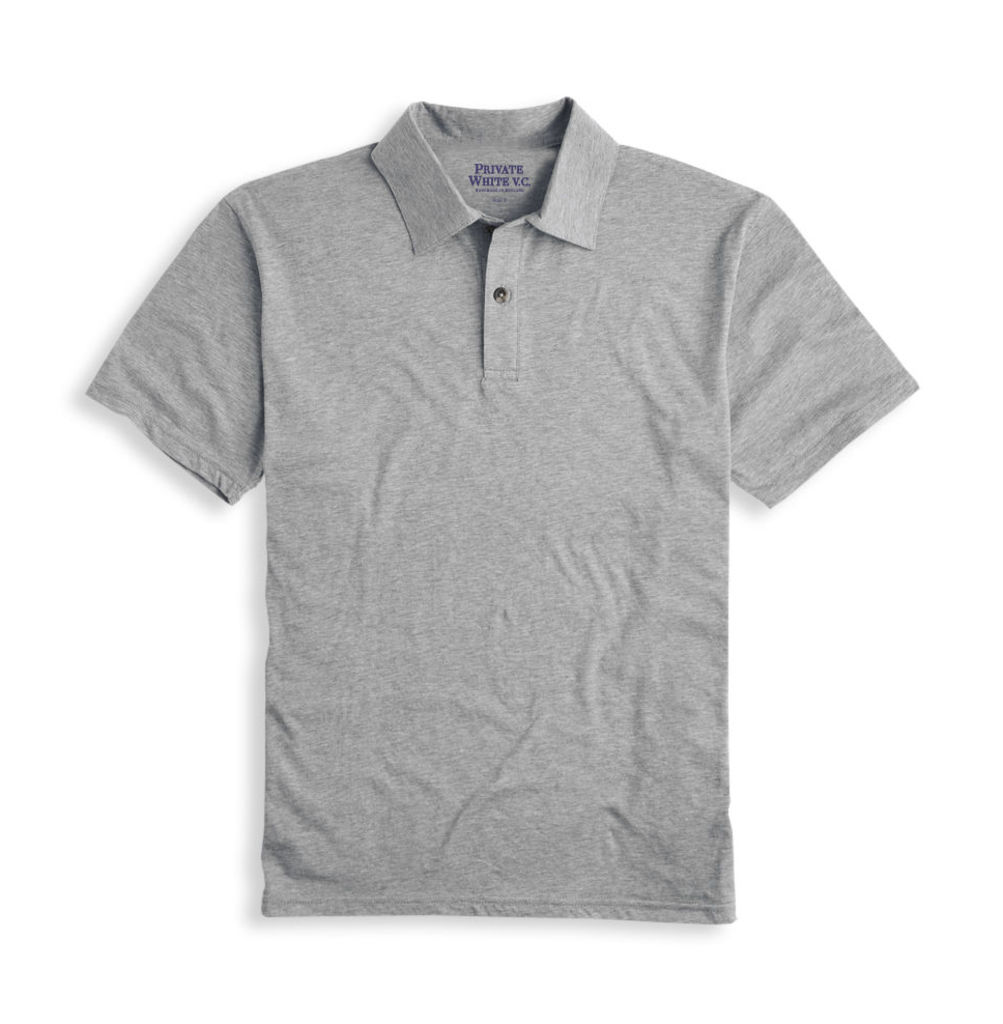 Polo Shirt - Grey Marl