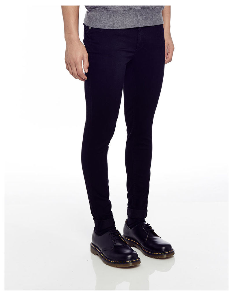 Cheap Monday Him Spray Jeans Black in Spray-On Fit