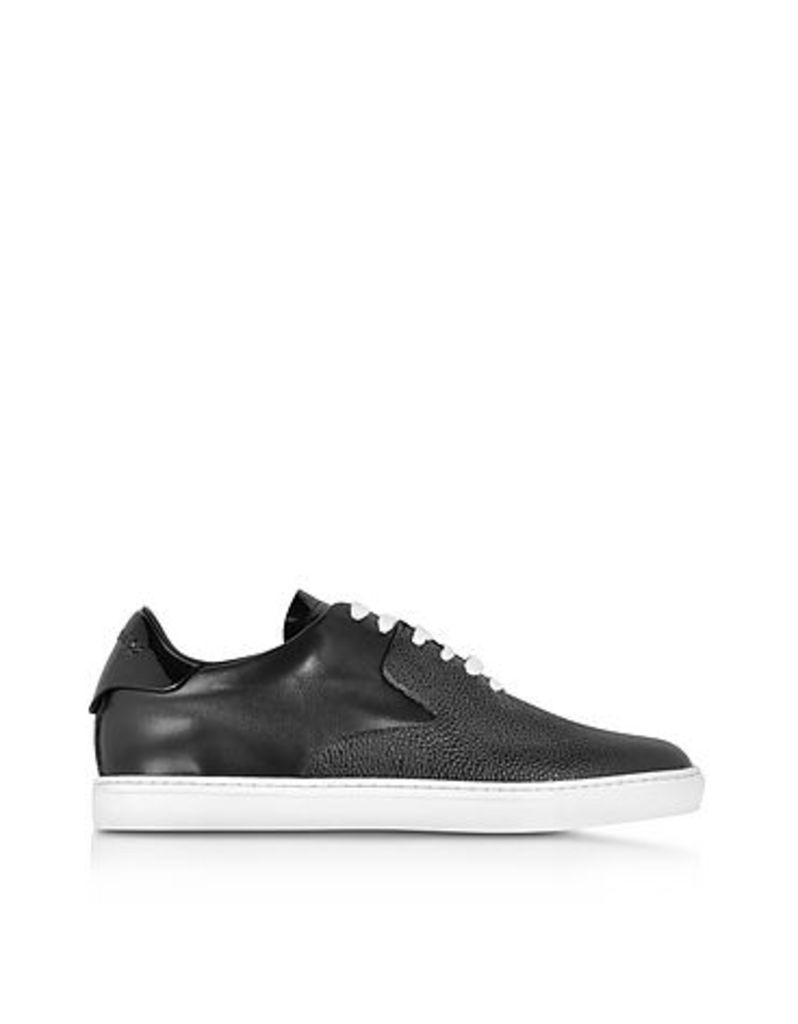 DSquared2 - Tux Black Leather Sneaker