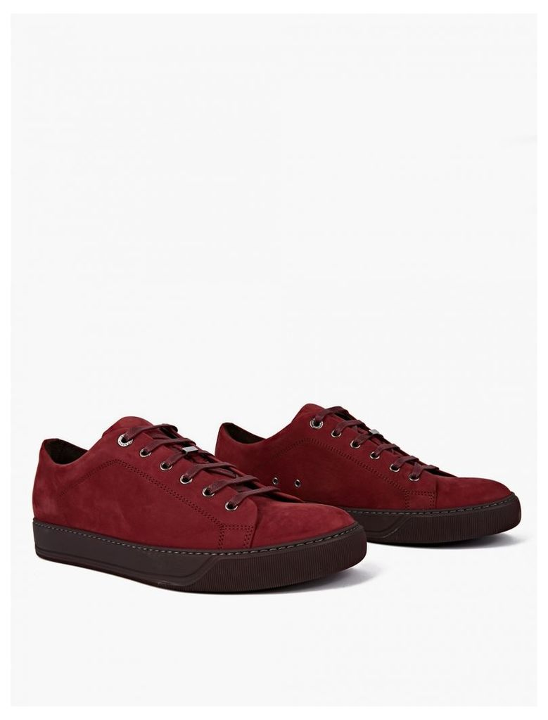 Red Suede Sneakers