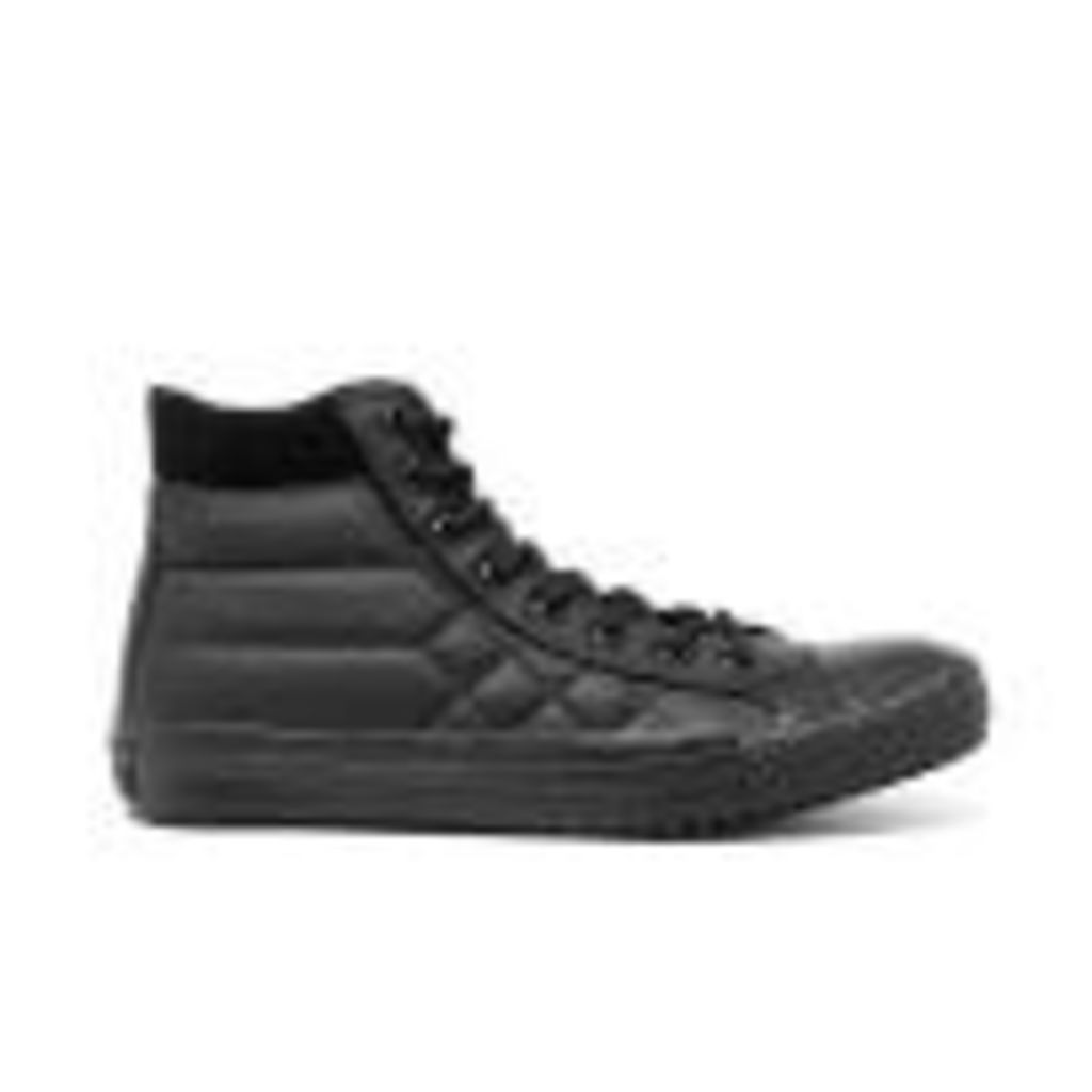 Converse Men's Chuck Taylor All Star Converse Boot PC Hi-Top Trainers - Black Monochrome