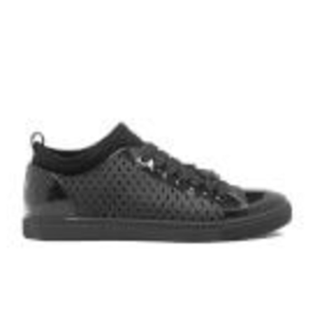 Vivienne Westwood MAN Men's Orb Enamelled Trainers - Black - UK 9